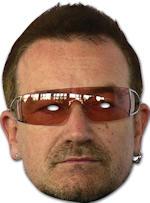 Маска - Bono Cardboard