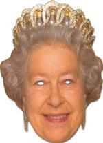 Маска - Queen Cardboard