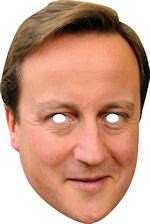 Маска - David Cameron Cardboard