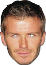 Маска - David Beckham Cardboard