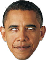 Маска - Barack Obama Cardboard