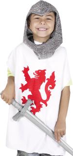 Детски костюм - Средновековен войник -бял