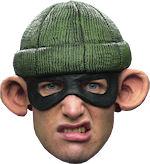 Маска и шапка - Burglar