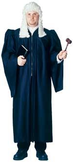 Карнавален костюм Съдийска роба- лукс