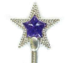 Вълшебна пръчица Звезда- светеща, сребриста