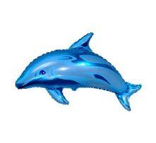 """Делфин - син  24""""- 60 см."""