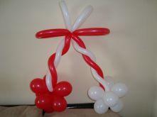 Мартеница от балони