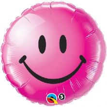 "Усмихнато Лице розово  18""- 45 см."