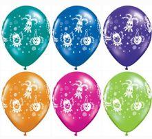 Балони с клоуни  - асорти 11'' (28см.)