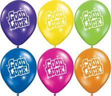 Балони с надпис Good Luck - асорти 11'' (28см.)