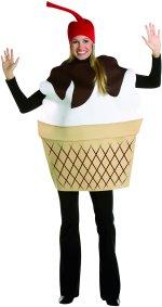 Костюм сладолед - жена