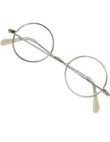 Очилата кръгли - с прозрачни стъкла.
