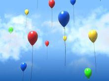 Латексови балони с хелий - едноцветни