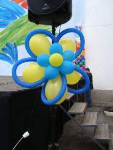 Цветя от балони
