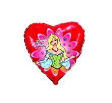 """Сърце с Принцеса 18""""- 45 см."""