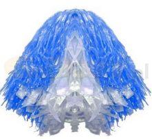 Помпон - Бяло и синьо