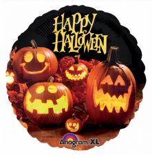 "Фолиен балон с Тикви и Happy Halloween 18"" - 46см."