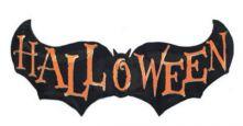 "Фолиен балон с Прилеп  Halloween 18""/41"" (46/104см)"