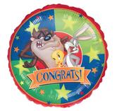 "Фолиен балон с надпис  Congrats   18""- 45 см."