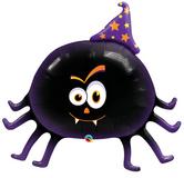 """Голям фолиен балон Приятелски парти паяк 36""""-91см"""