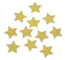 Конфети - Звездички фолийни златисти 25гр.