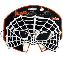 Домино паяжина - черно и бяло