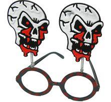 Кръгли очила с черепи