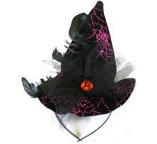 Мини Вещерска шапка на диадема