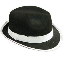 Гангстерска шапка - черна