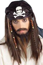 Перука - Карибски пират