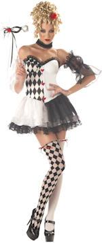 Карнавален костюм Арлекино жена
