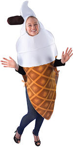 Костюм момиче-сладолед
