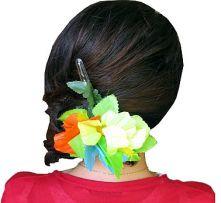 Голяма шнола с три хавайски цветя