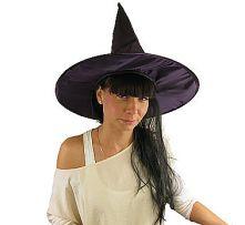 Вещерска шапка - лилава с коса