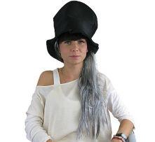 Вампирска шапка с бяла коса