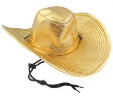 Каубойска шапка - златна