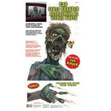 Декорация Зомби - Хищник за прозорец на кола
