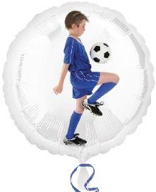 """Фолиен балон Футболист 18""""- 45 см."""