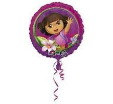 "Фолиен балон Dora Дора  18""- 45 см."