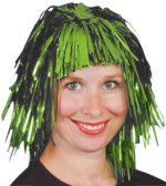 Перука - Зелена лъскава