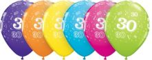 Балон с 30год. 11'' (28см.)