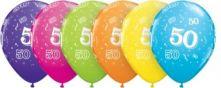 Балон с 50год. 11'' (28см.)