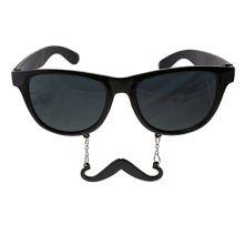 Очила с Мустаци