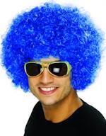 Перука - Парти - синя