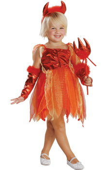 Детски костюм Малка Дяволка