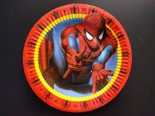 Картонена чиния с Спайдърмен Spiderman 10бр, 18.5см