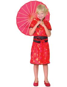 Карнавален костюм Китайка