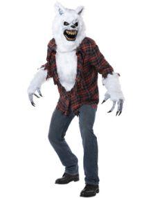 Карнавален костюм Вълк - върколак страшен