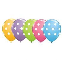 Балони с  точки асорти  11'' (28см.)