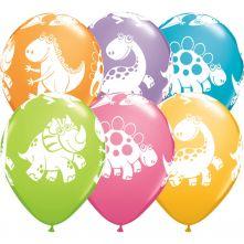 Балони с  Динозаври асорти  11'' (28см.)